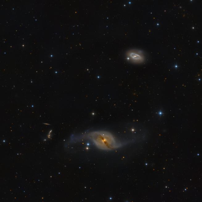 NGC 3718 & NGC 3729