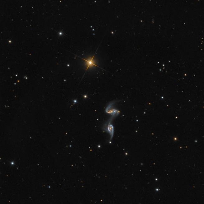 NGC 5257 & NGC 5258