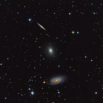 NGC 5981, 5982, 5985